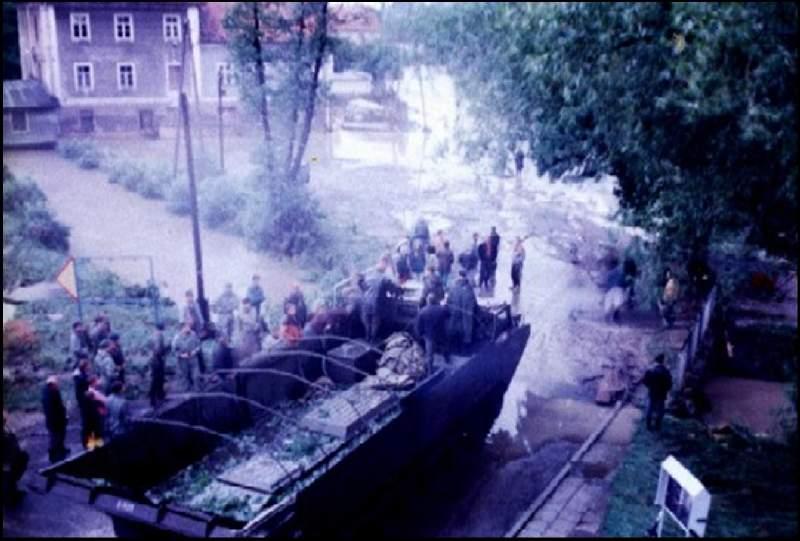 Widok na Plac Wolności, Autor: M. Bernacki, 07.1997r.