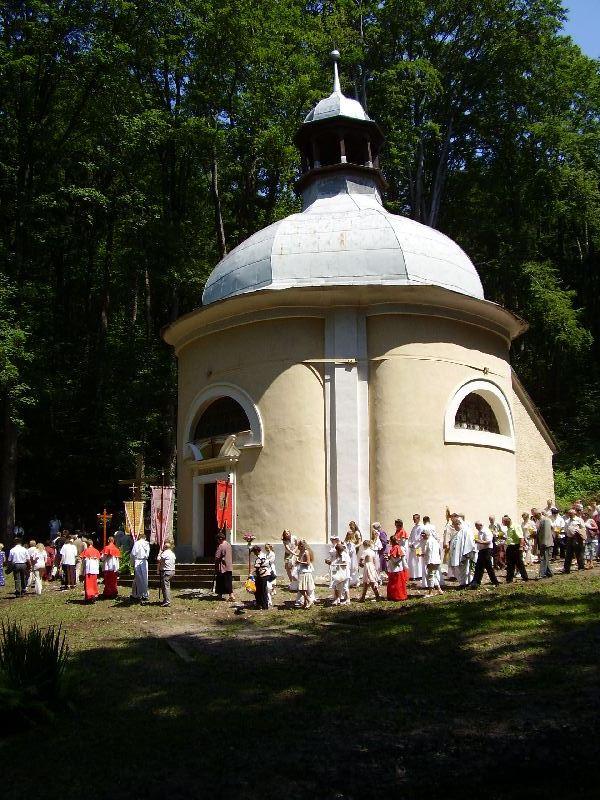 Odpust św. Antoniego Padewskiego, Procesja wokół kaplicy św. Antoniego, 10.06.2007r.