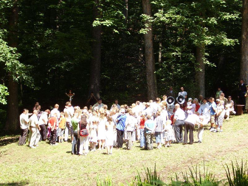 Odpust św. Antoniego Padewskiego, Msza św. Odpustowa - Błogosławieństwo, 10.06.2007r.