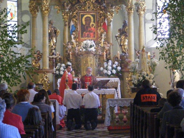 Festyn majowy ku czci św. Floriana, Uroczysta Msza św.11.05.2008r.