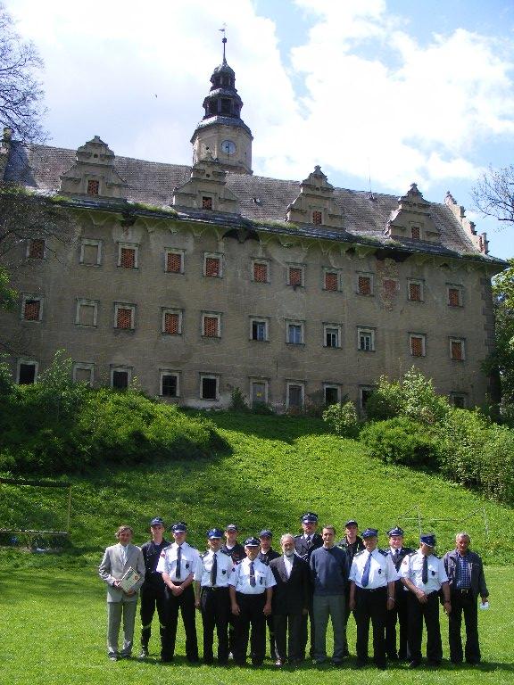 Festyn majowy ku czci św. Floriana, Zdjęcie grupowe OSP, 11.05.2008r.