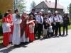 Festyn majowy ku czci św. Floriana, Poświęcenie remizy OSP, 11.05.2008r.