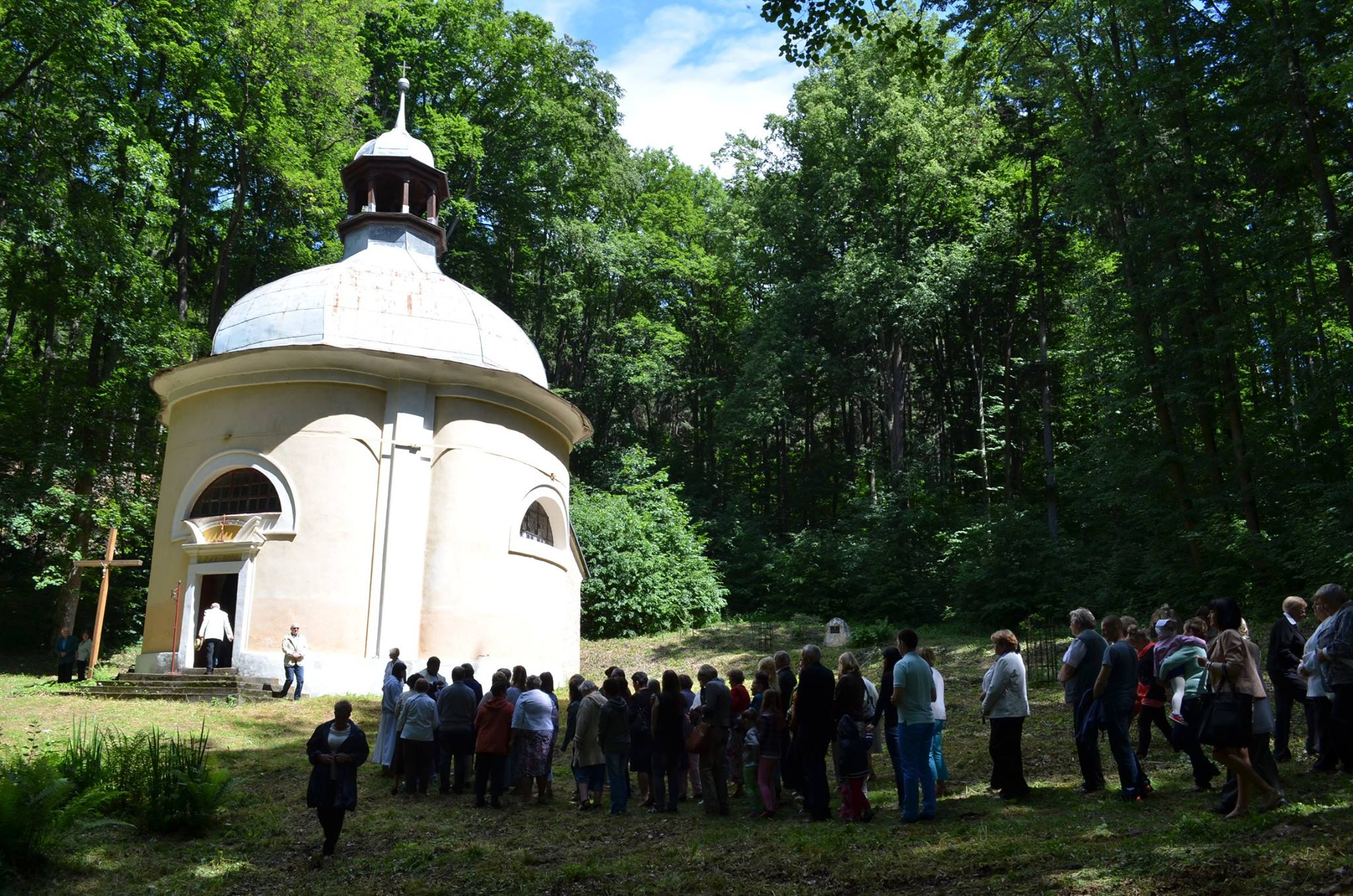 Odpust św. Antoniego Padewskiego, Msza św. Odpustowa, Autor: R. Duma, 15.06.2014r.