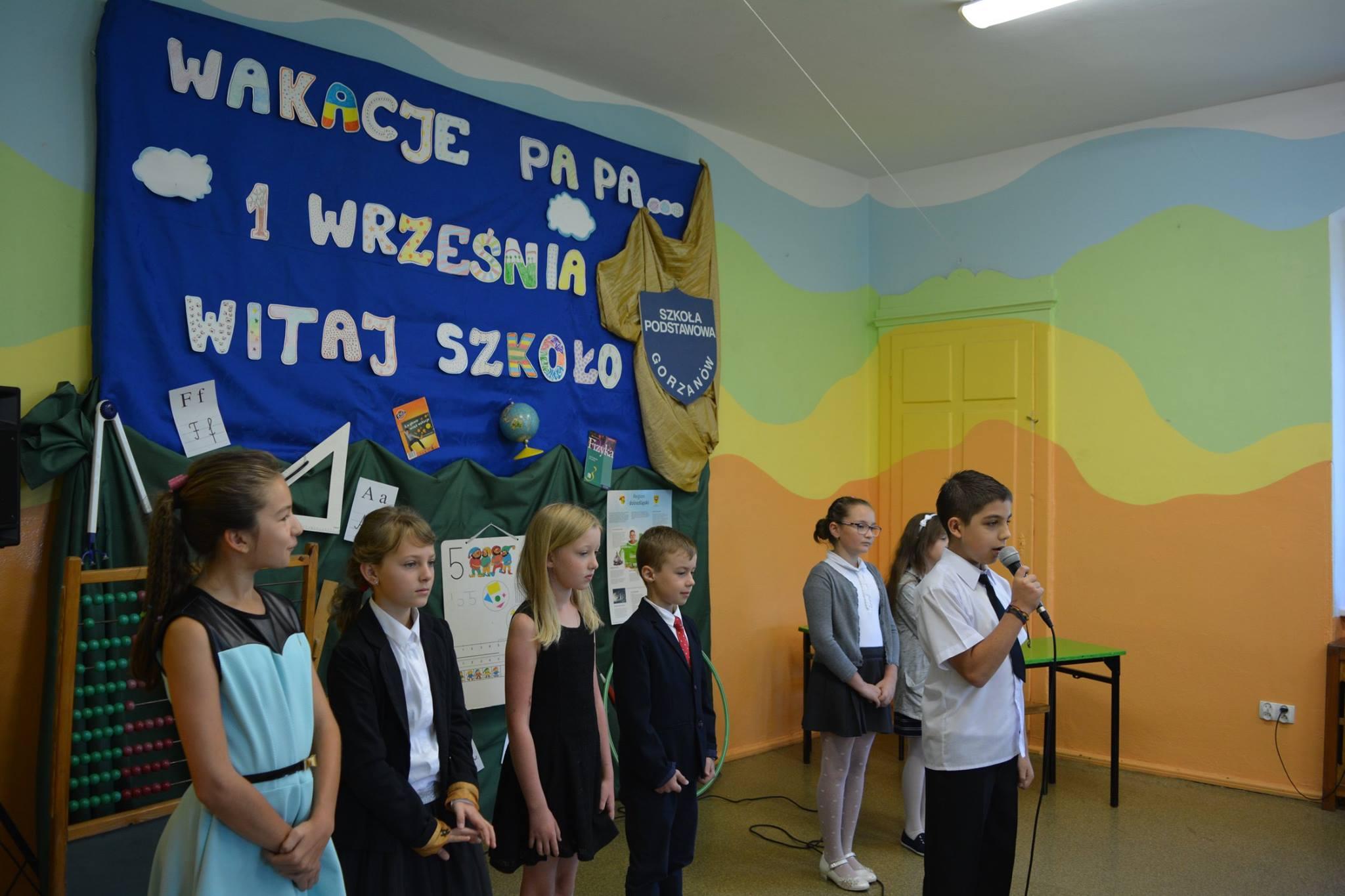 Rozpoczęcie roku szkolnego 2016/2017, Autor: A. Chabło, 01.09.2016r.