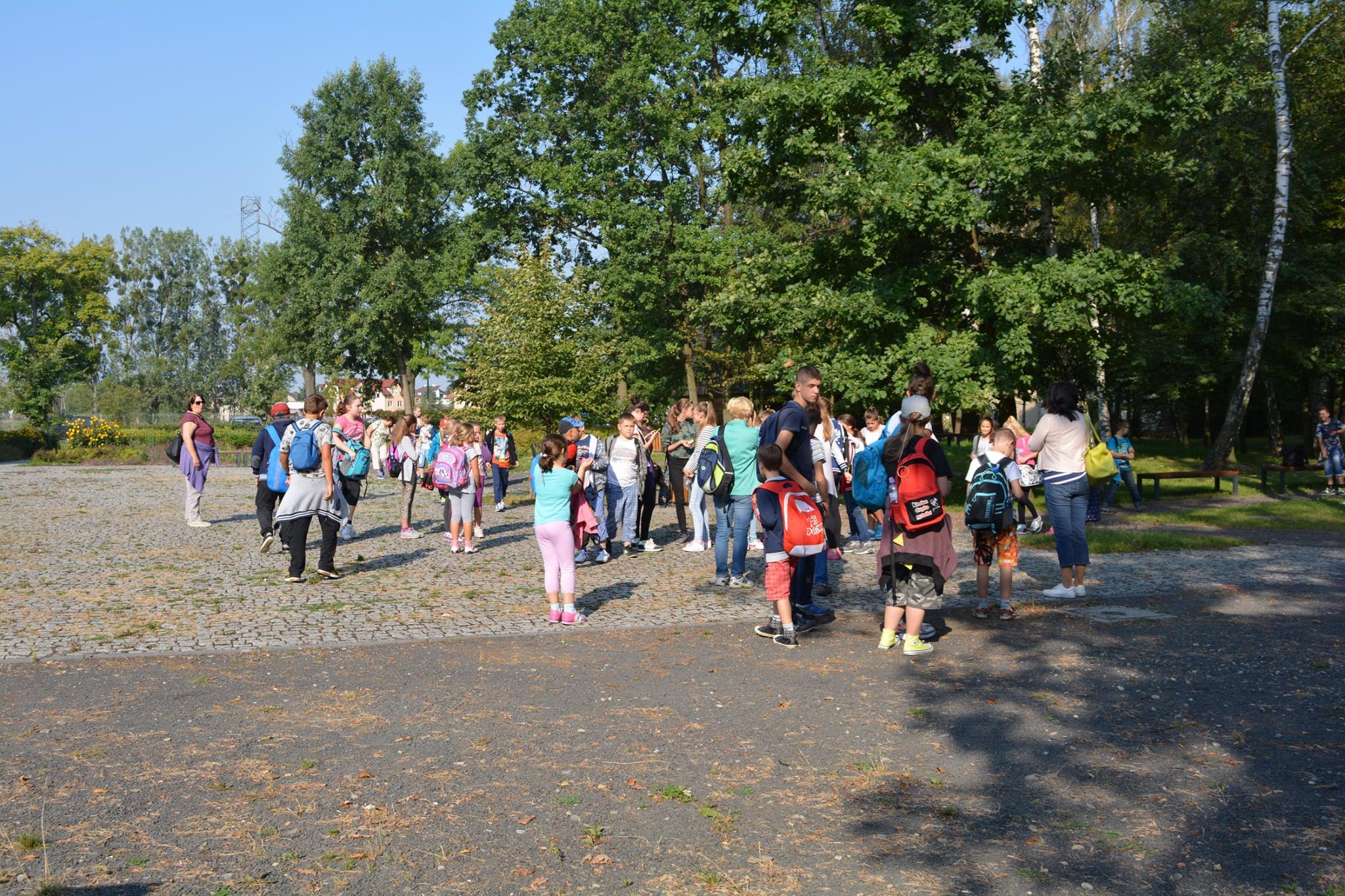 II dzień zielonej szkoły w Pokrzywnicy, Autor: A. Chabło, 07.09.2016r.