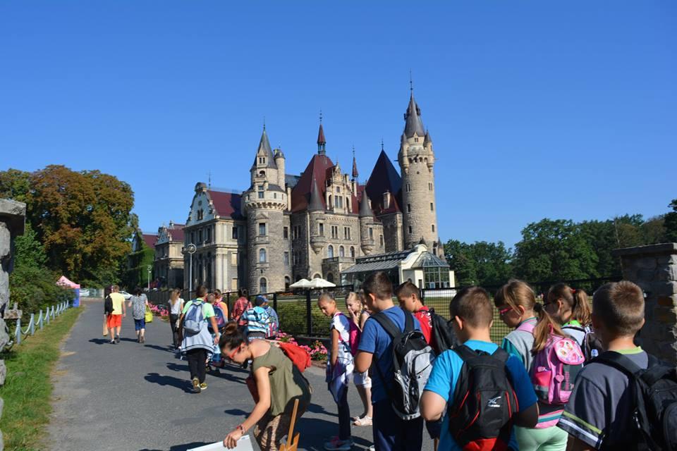 IV dzień zielonej szkoły w Pokrzywnicy, Autor: A. Chabło, 09.09.2016r.