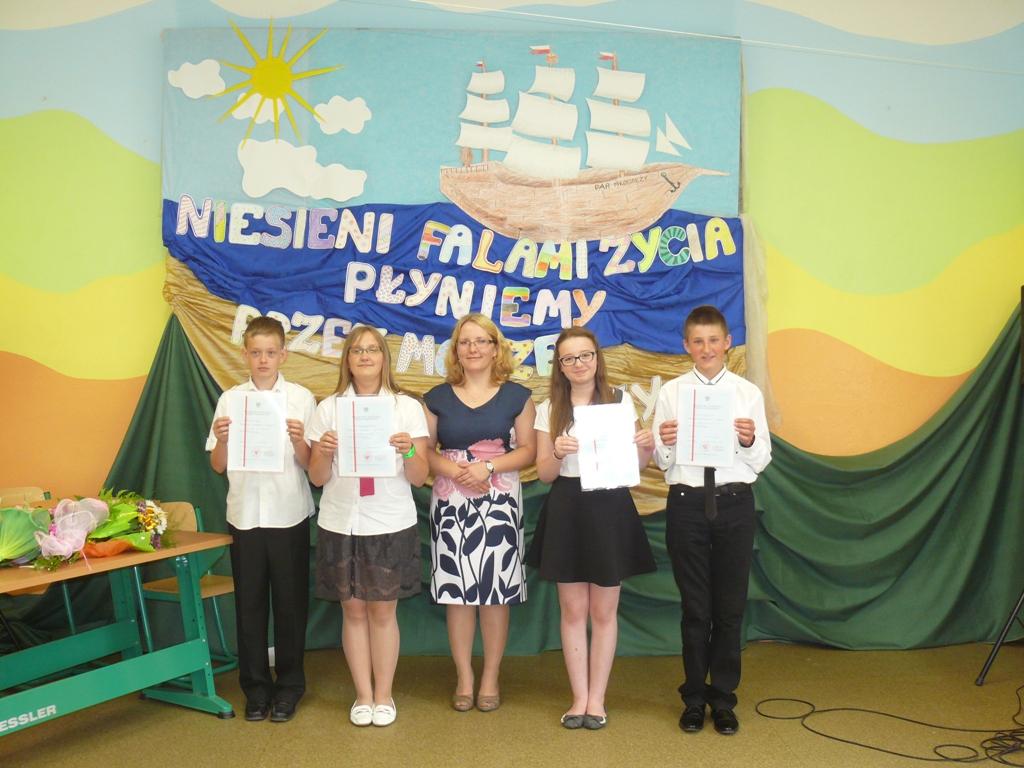 Zakończenie roku szkolnego 2014/2015, Klasa VI, Autor: R. Bernacki, 26.06.2015r.