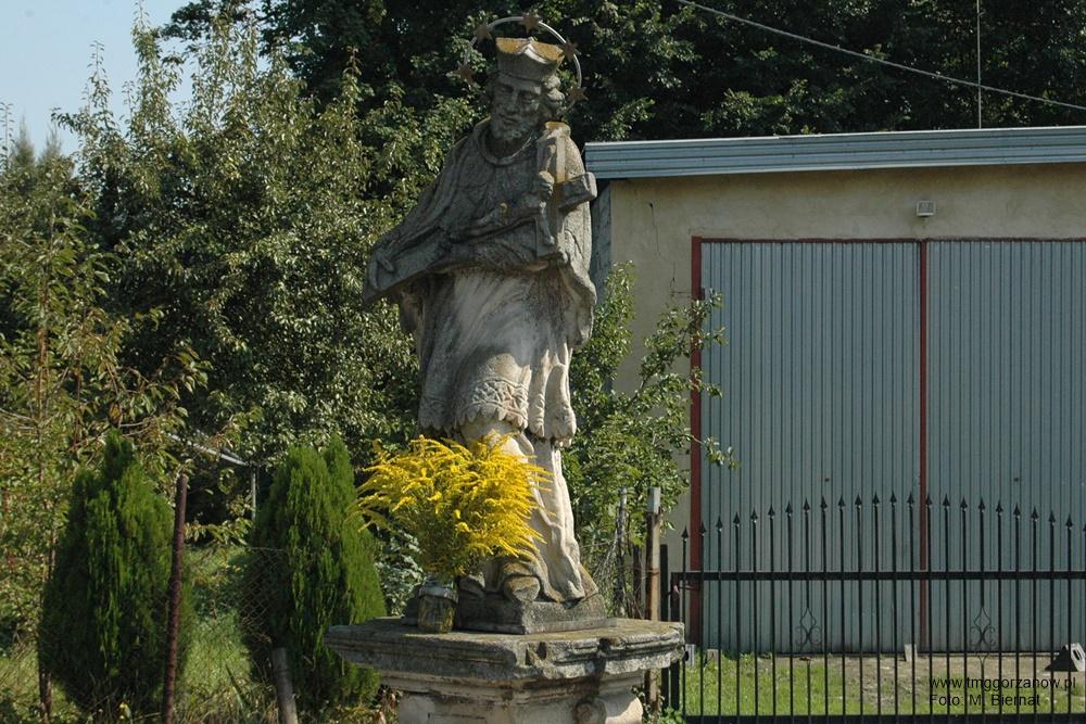 Figura św. Jana Nepomucena przy ul. Młyńskiej, Autor: M. Biernat, 07.09.2014r.