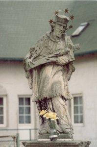 Figura św. Jana Nepomucena przy ul. Młyńskiej, Autor: R. Duma