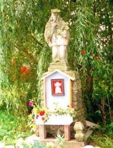 Figura św. Jana Nepomucena przy ul. Bystrzyckiej, Autor: R. Duma