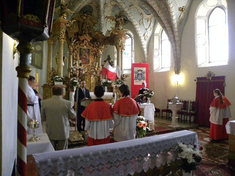 Msza święta z okazji Jubileuszu, 18.09.2010r.
