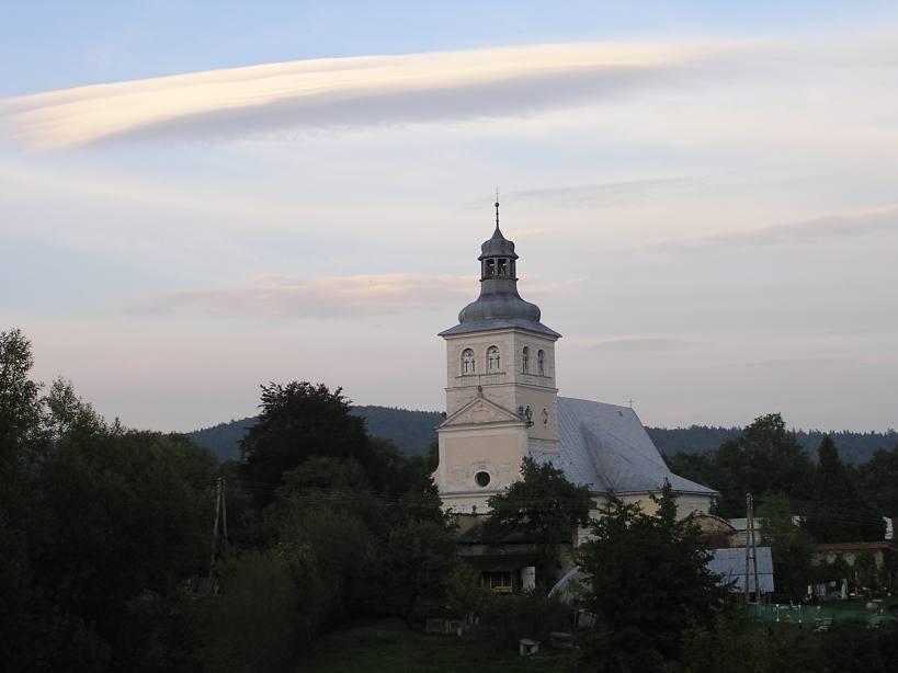 Widok od strony zachodniej na Kościół św. Marii Magdaleny