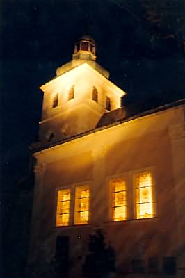 Kościół św. Marii Magdaleny nocą, Foto: Robert Duma