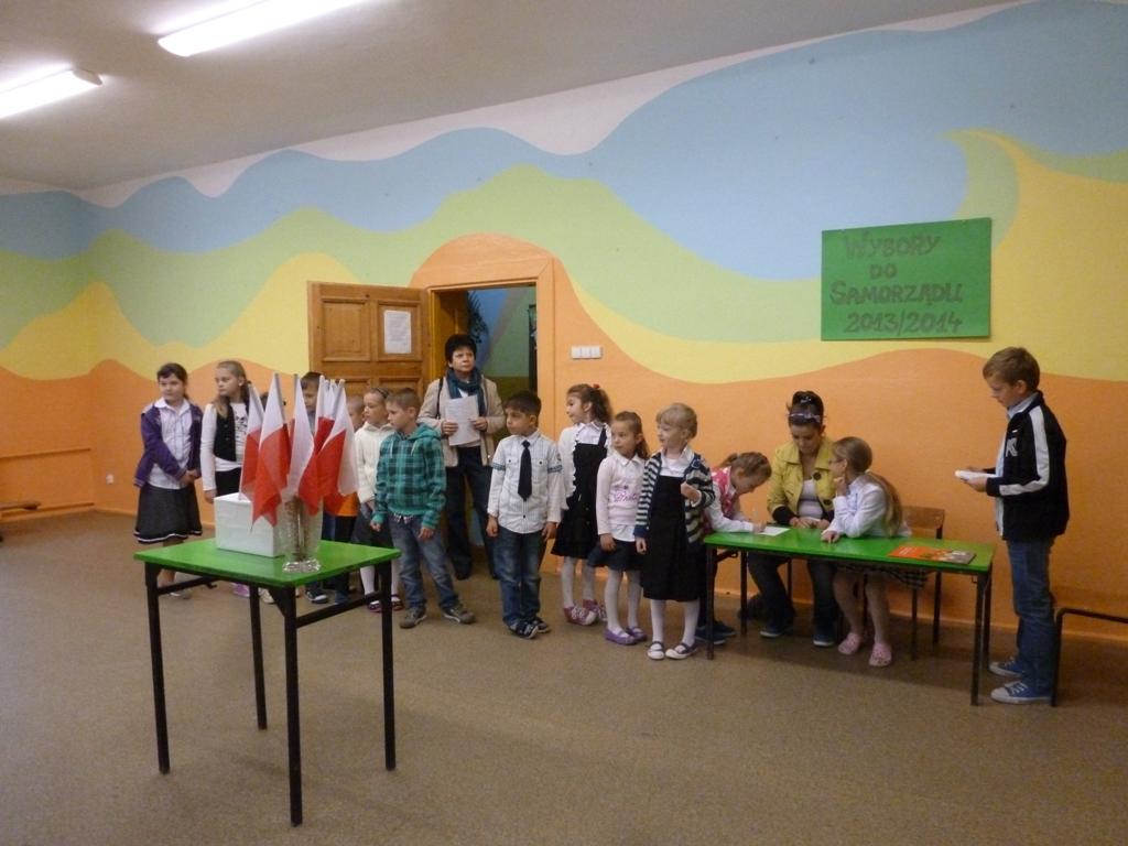 Wybory do samorządu uczniowskiego 2013/2014
