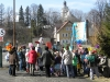 """I Dzień Wiosny w SP, przejście obok  rozlewni wody źródlanej ,,Cyranka"""", Autor: R. Duma, 21.03.2011r."""