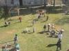I Dzień Wiosny w SP, Plac zabaw, Autor:  R. Duma, I Dzień Wiosny w SP, Plakat wykonany przez uczniów, Autor: R. Duma, 21.03.2011r.