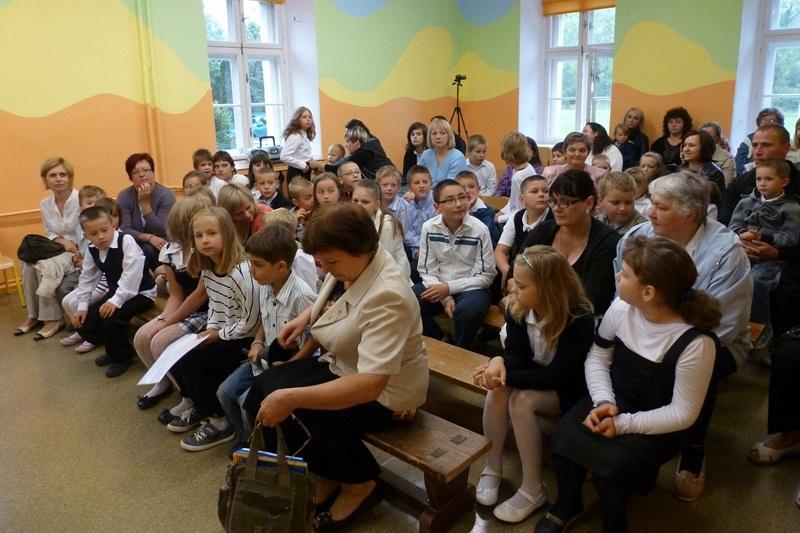 Rozpoczęcie roku szkolnego 2012/2013, 03.09.2012r.