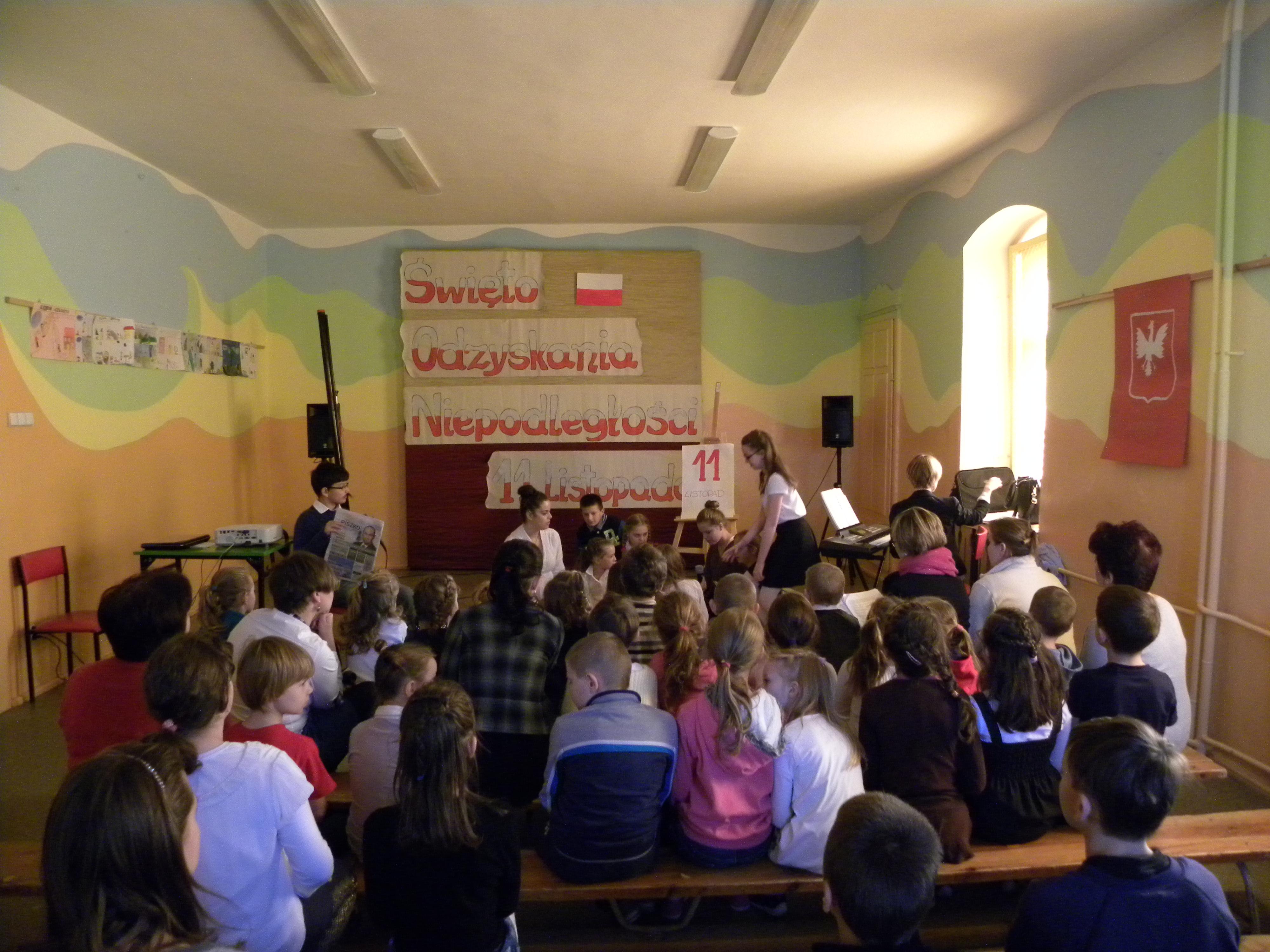Święto Odzyskania Niepodległości, Autor: A. Chabło, 12.11.2014r.