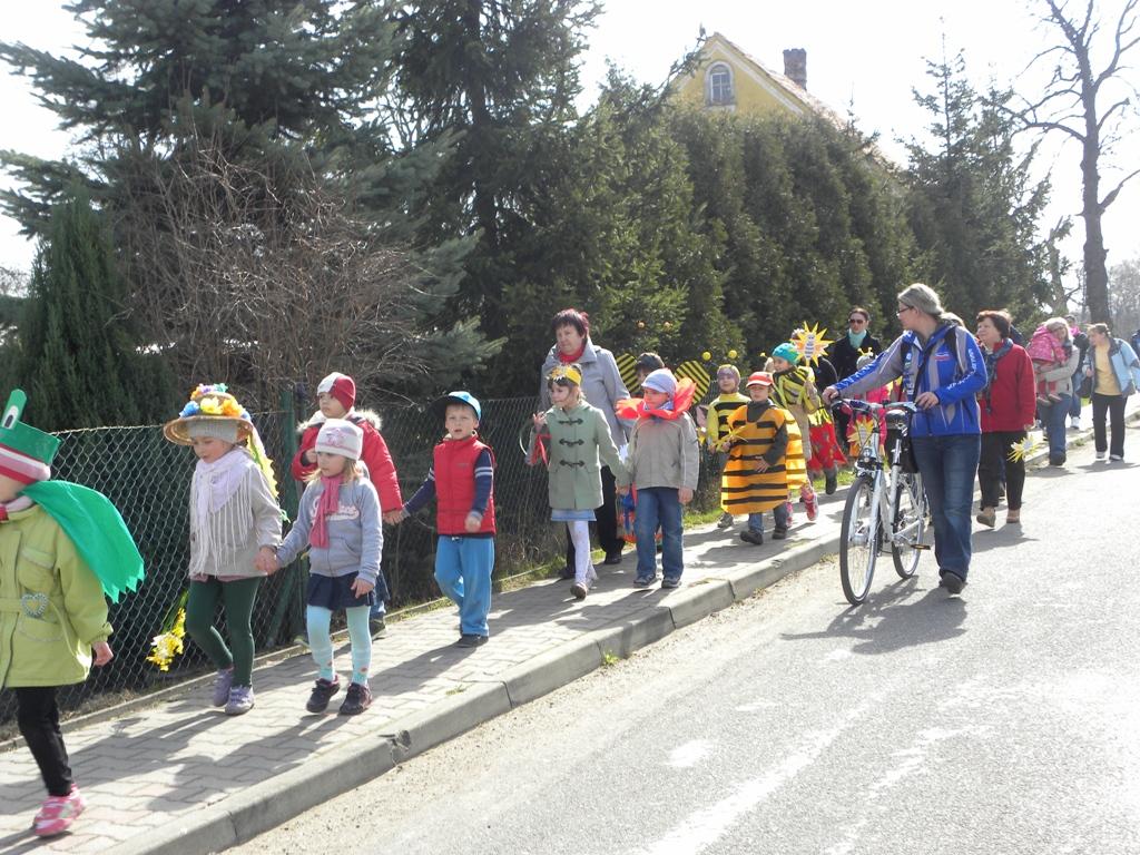 I Dzień Wiosny w SP, 21.03.2014r.
