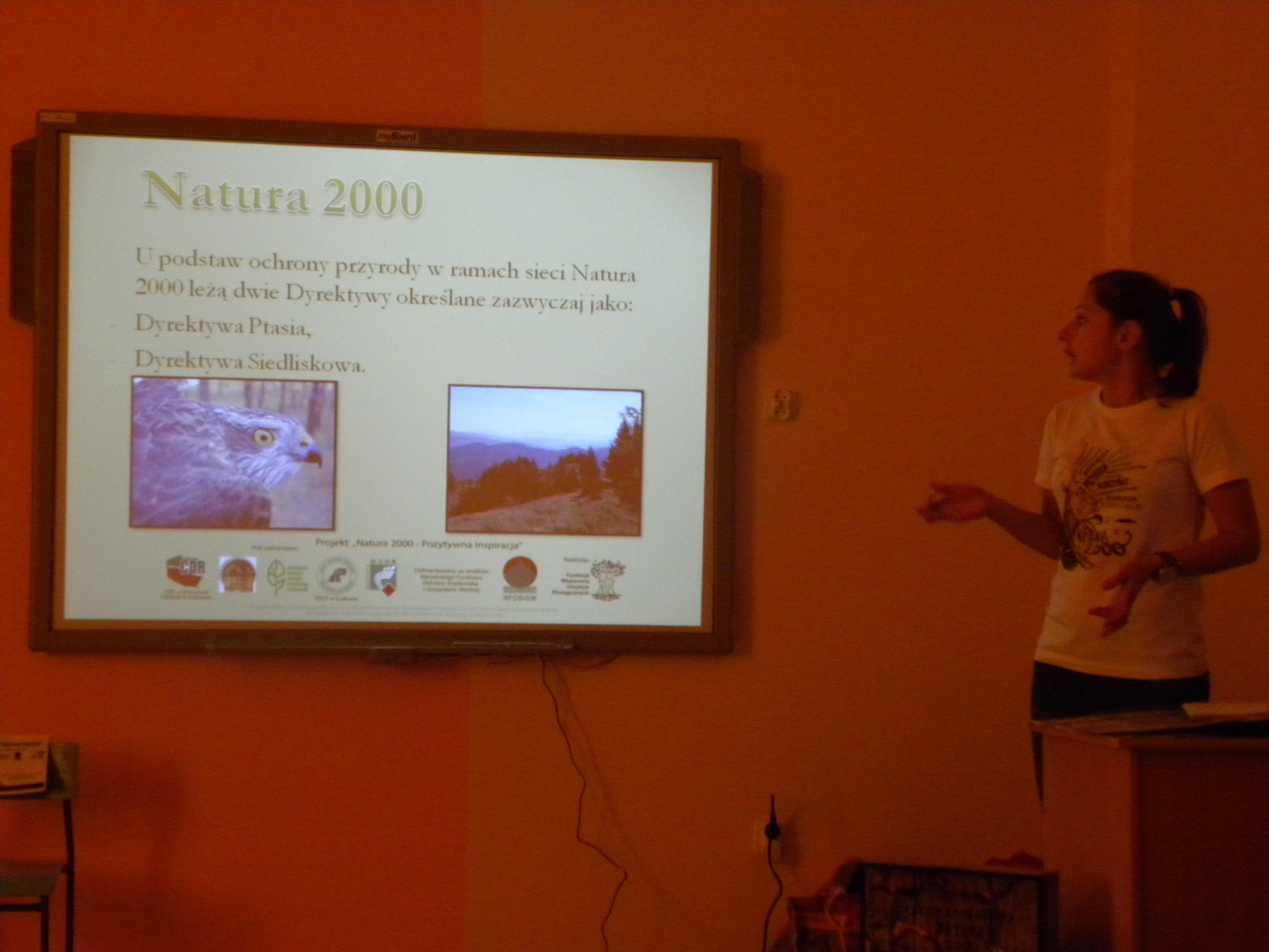 Warsztaty ekologiczne - Natura 2000, Autor: A. Chabło, 13.11.2014r.