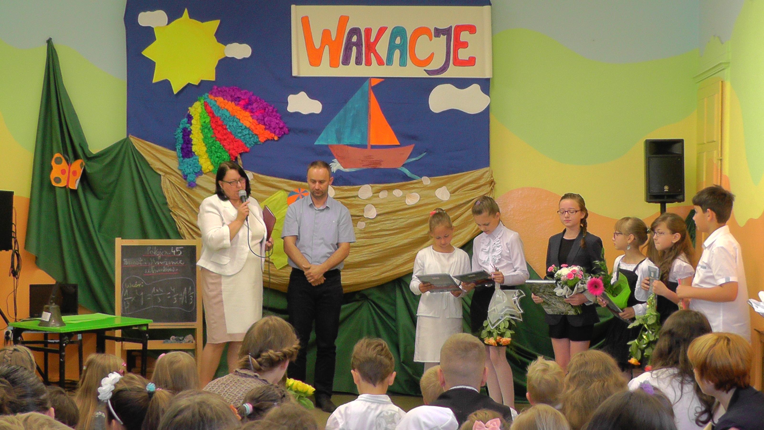 Zakończenie roku szkolnego 2013/2014, Autor: R. Bernacki, 27.06.2014r.