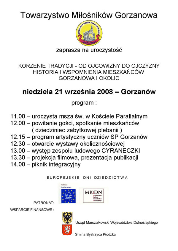 2008.09.21. Plakat_Korzenie Tradycji - OdOjcowizny doOjczyzny