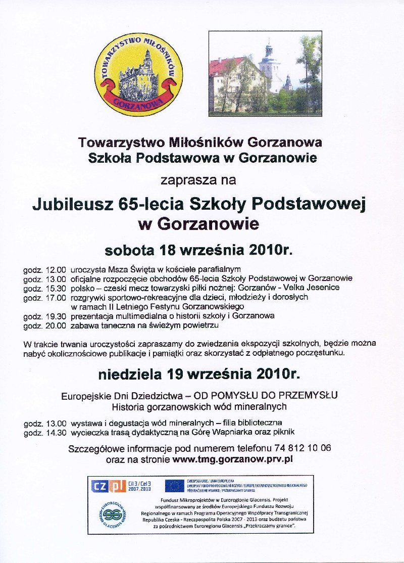 2010.09.18. Plakat_Jubileusz_SP_65lat