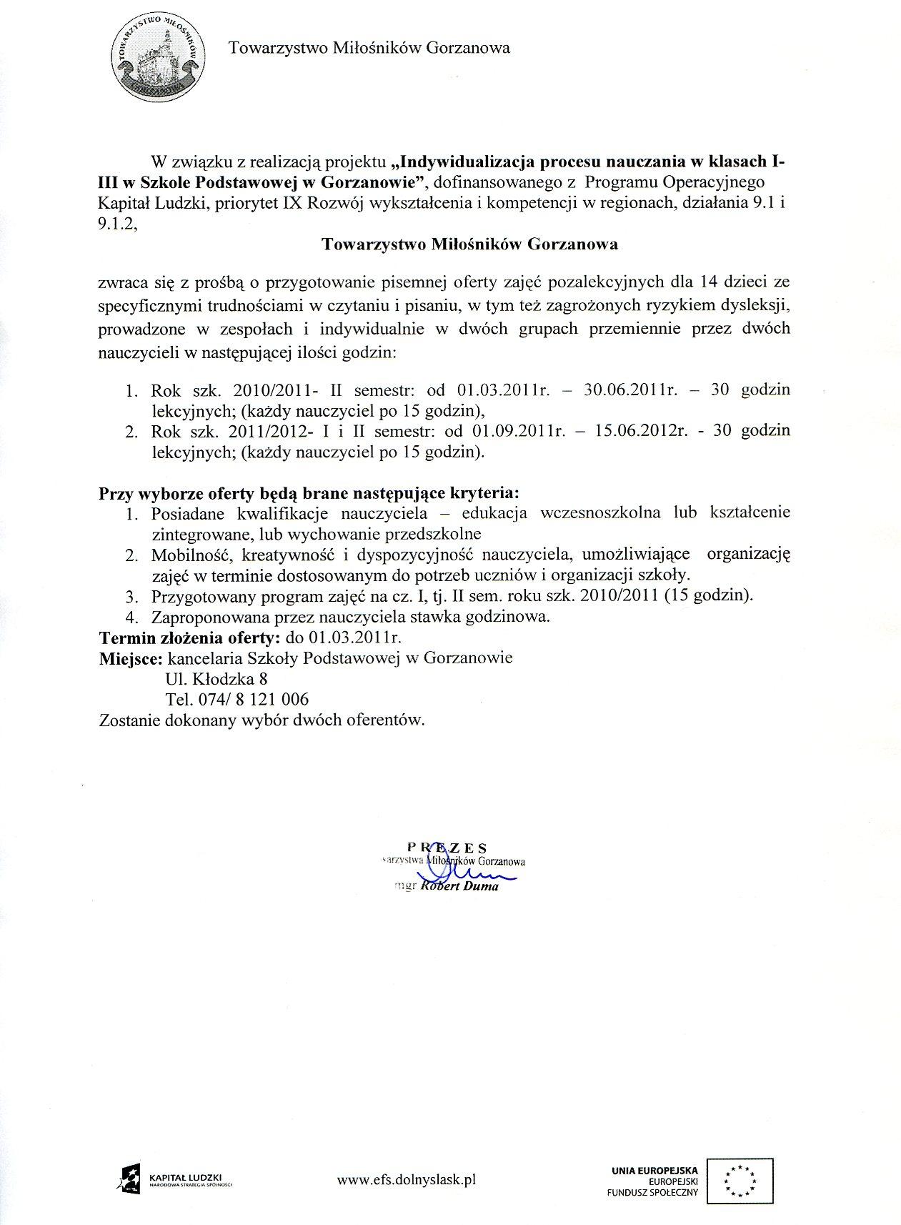 2011.03.01. zapytanie_ofertowe_zajecia pozalekcyjne2_eduk_wczesnosz.