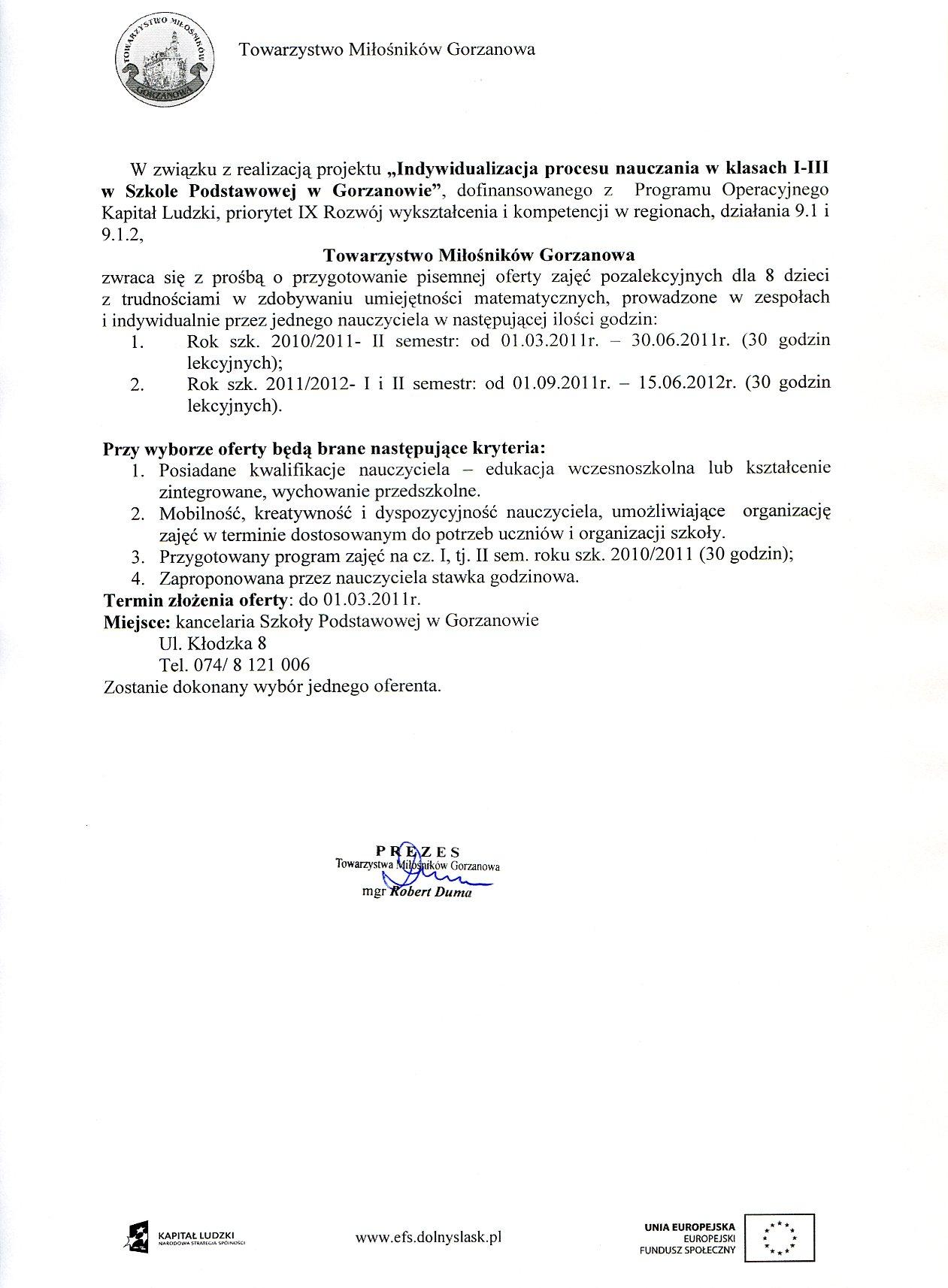 2011.03.01. zapytanie_ofertowe_zajecia pozalekcyjne_eduk_wczesnsz.