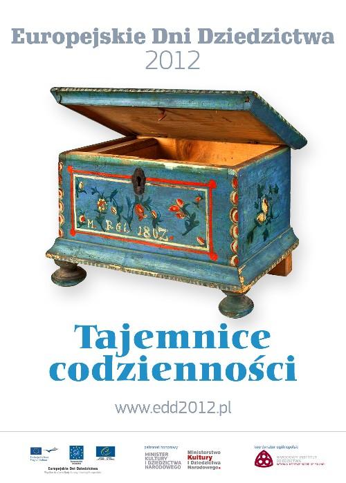 2012. Plakat_EuropejskieDniDziedzictwa 2012.