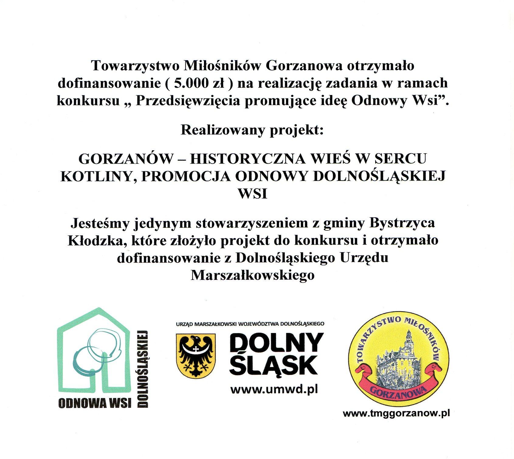 Tablica_Gorzanow-historyczna wies wsercu kotliny
