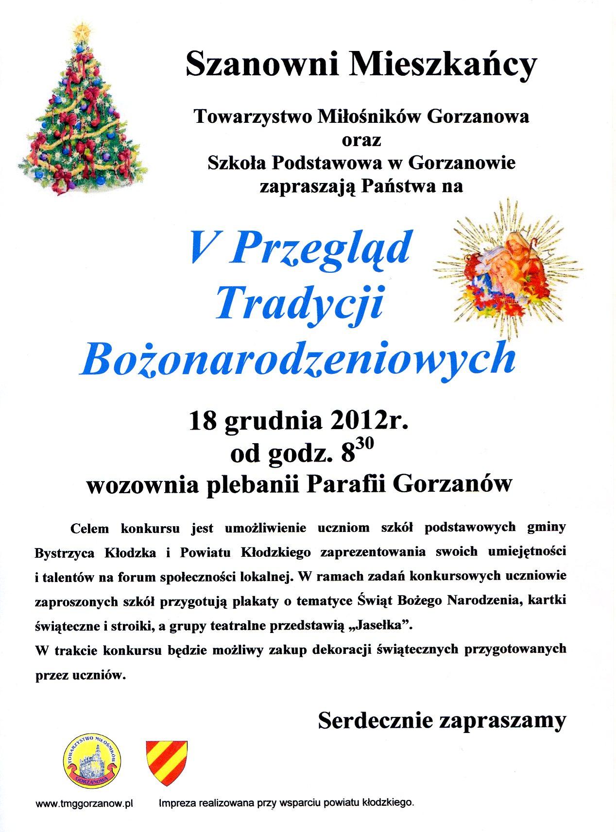 2012.12.18. Plakat_V Przegląd TB