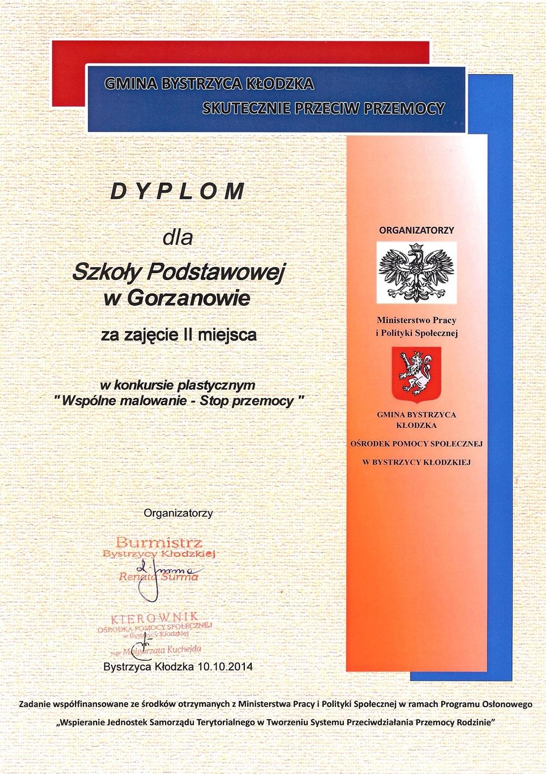 2014.10.14. Dyplom_Konkurs_Plastyczny_Wspólne malowanie