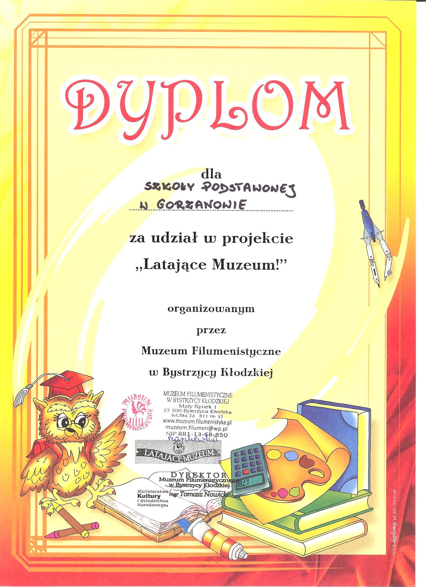 2014.10.14. Dyplom_Latajace_Muzeum