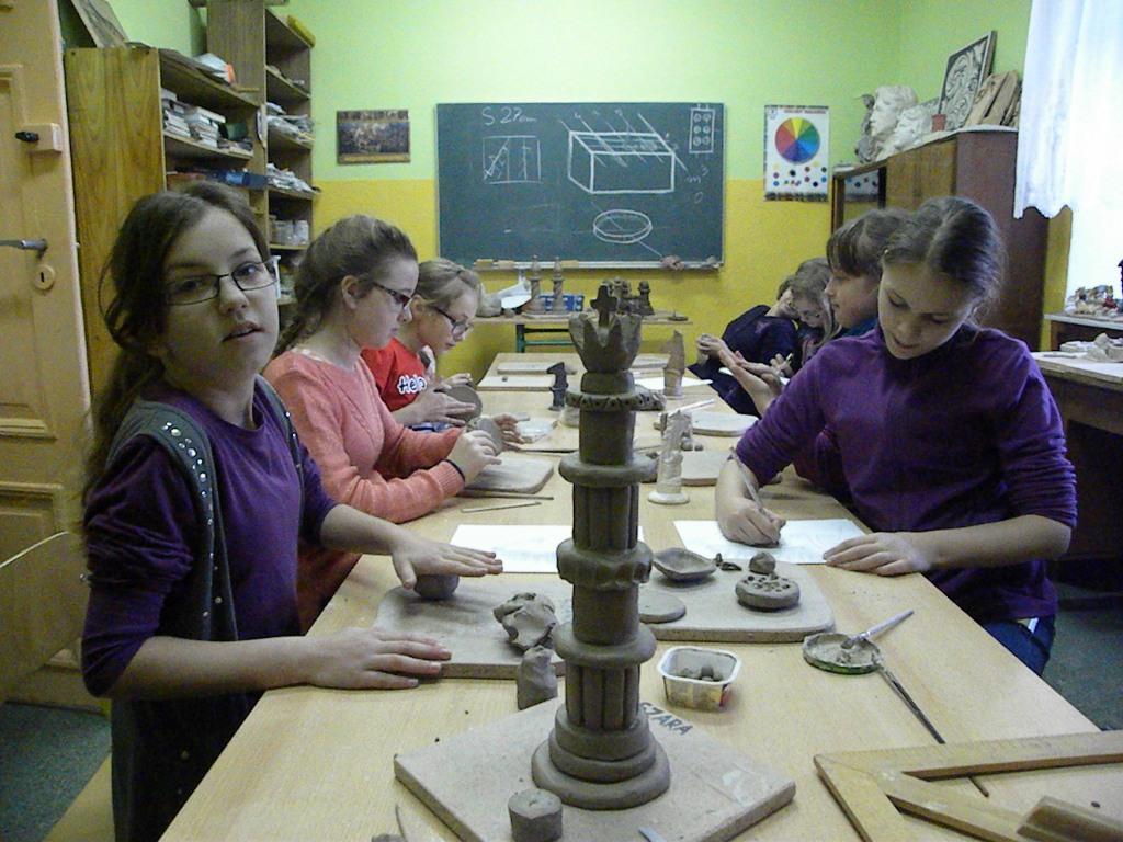 2014.10.28. Zajęcia ceramiczne